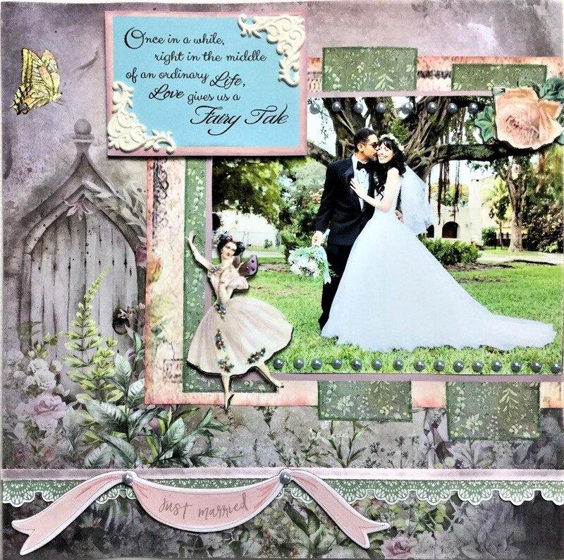 MY DAUGHTER'S WEDDING  - FAIRY TALE