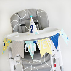 Party Hat & Banner *Bazzill Basics