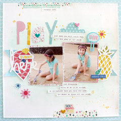 Beach Play *Bella Blvd*