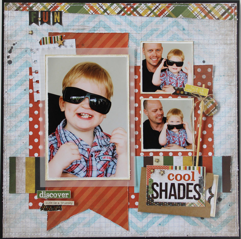 Cool Shades *Simple Stories*