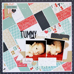 Tummy Time **Pink Paislee**