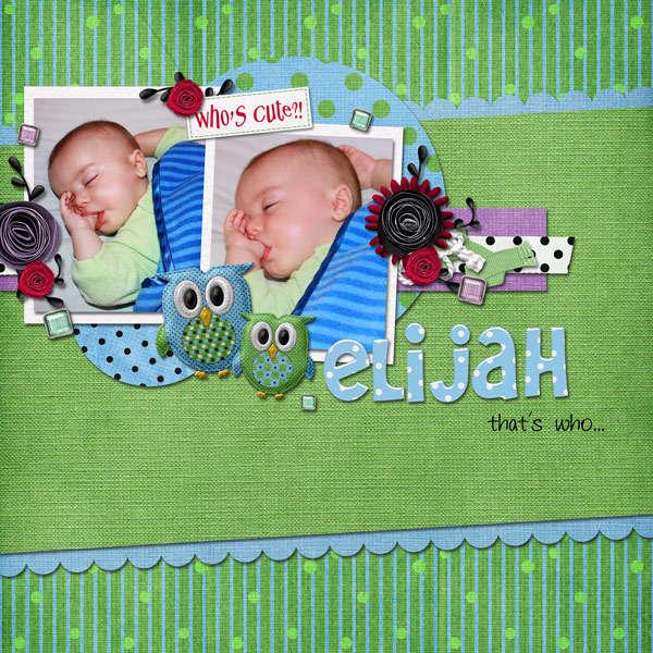 Elijah Thats Who