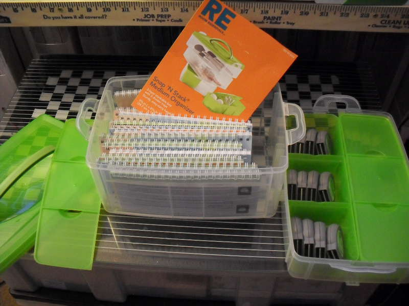Snapware for Cricut Cartridge Storage