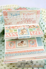 Graphic 45 Little Darlings Mini Baby Album