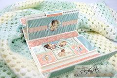Graphic 45 Little Darlings Mini Baby Album