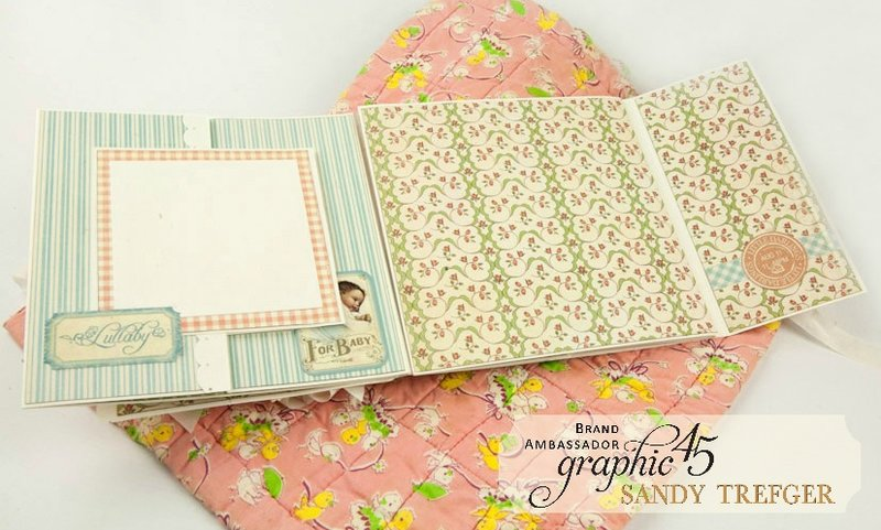 Graphic 45 Little Darlings Folio Mini Album