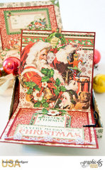 Graphic 45 Pop Up Christmas Card and Gift Box