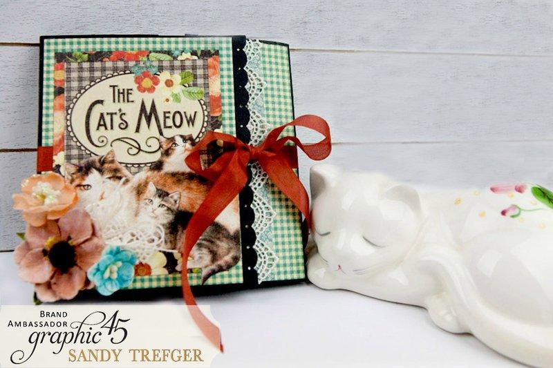 Graphic 45 Cat Mini Album