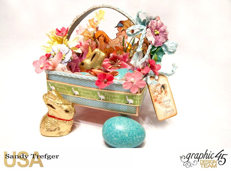 Graphic 45 Easter Basket