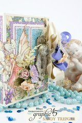 Graphic 45 Fairie Dust Diorama in ATC Book Box