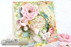 Graphic 45 Family Love Card