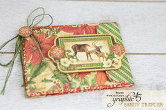 Graphic 45 Winter Wonderland Gift Card Holders
