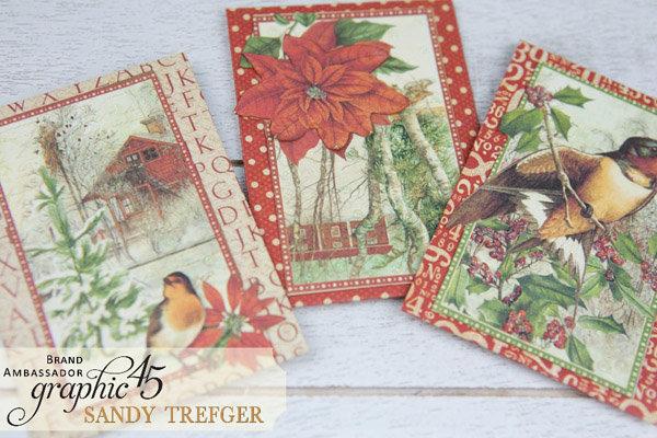 Graphic 45 Winter Wonderland Gift Card Holders