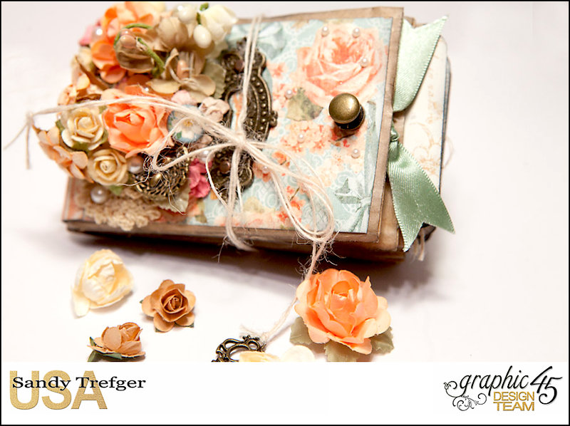 Graphic 45 Secret Garden Paper Bag Mini Album