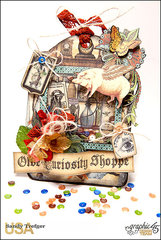 Graphic 45 Old Curiosity Shoppe Shaker Tag