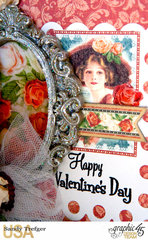 Graphic 45 Valentine Card