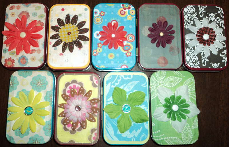 Altered Altoid Tins Front