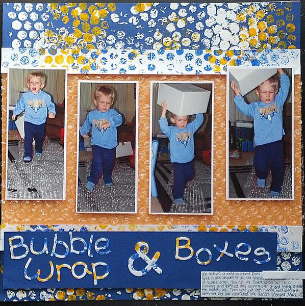 Bubble Wrap & Boxes