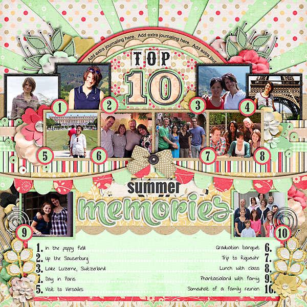 Top 10 Summer Memories