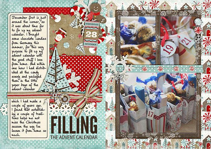 Filling the Advent Calendar (December Daily)