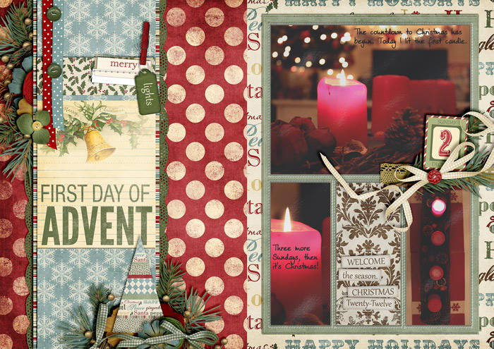 First Day of Advent (December Daily)