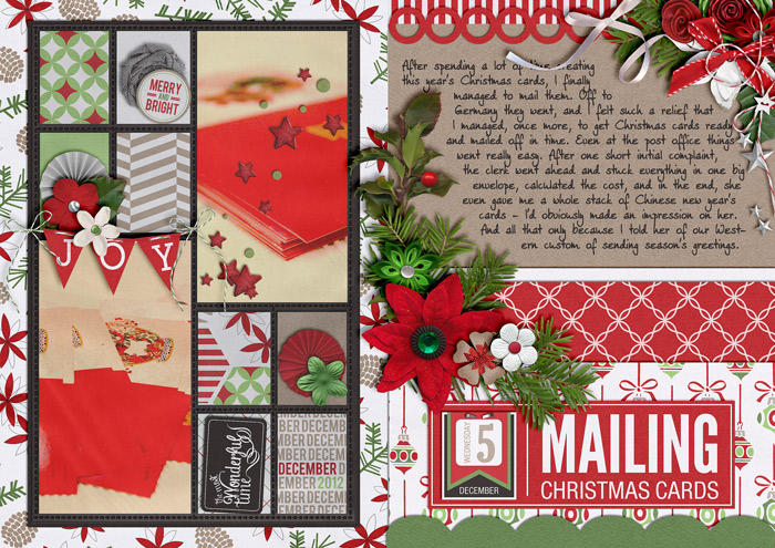 Mailing Christmas Cards (December Daily)