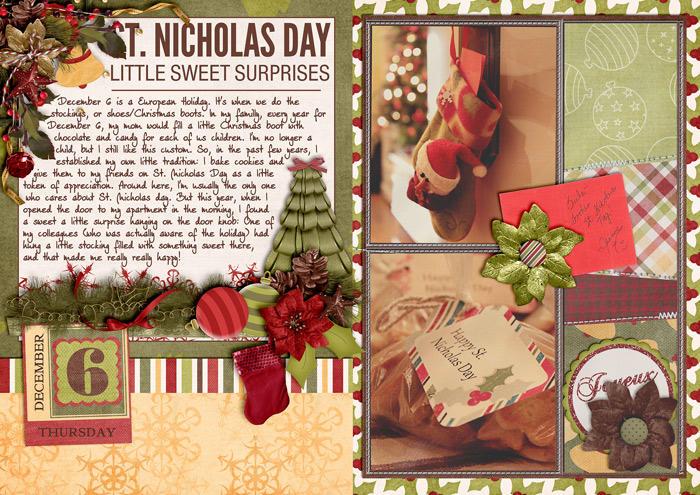 St. Nicholas Day - Little Sweet Surprises (December Daily)