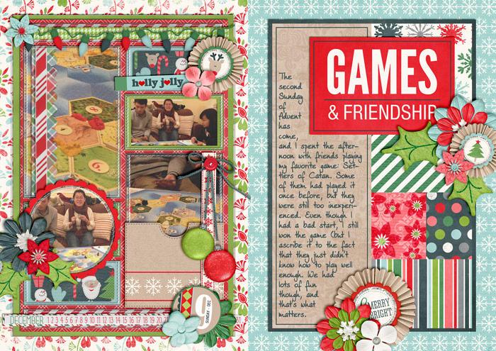 Games & Friendship (December Daily)