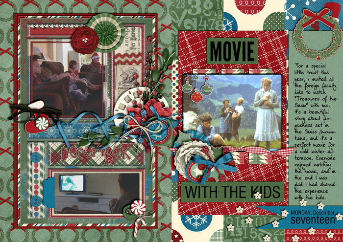 Movie with the Kids (December Daily)