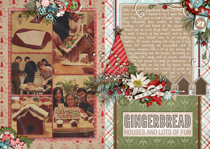 Gingerbread Houses and Lots of Fun (December Daily)
