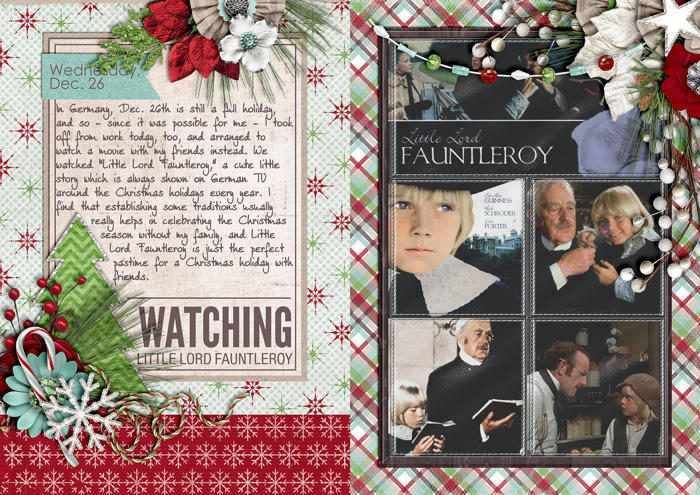 Watching Little Lord Fauntleroy (December Daily)