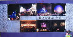 Disney at Night (whole layout)
