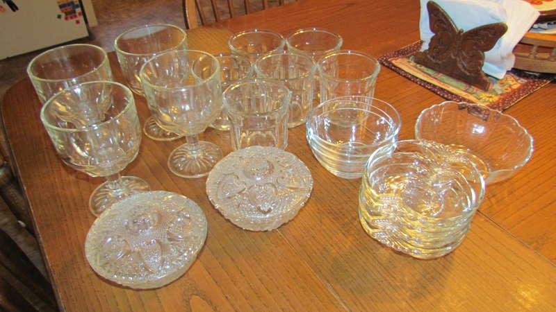 Glassware for Sundae Bar