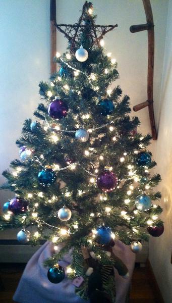 Smaller Christmas tree