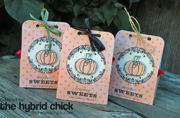 Treat Bags for Halloween (Hybrid Project)