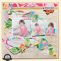 3L and Paper House Blog Hop Layout