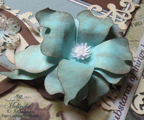 Cricut 50 States Flower Closeup
