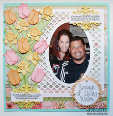 Springs of Water Floral Layout