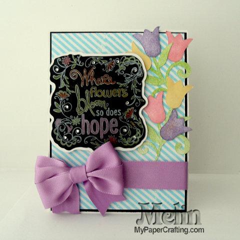 Hope Chalkboard Card