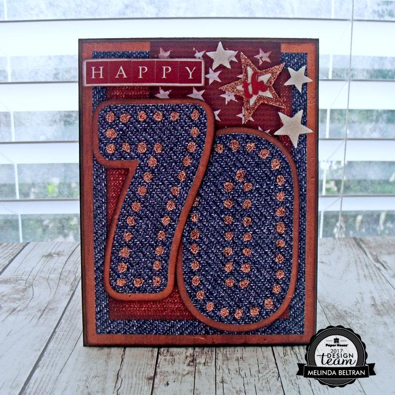 Happy 70th Card