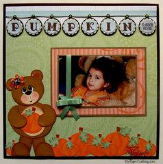 Pumpkin Patch Cutie Layout