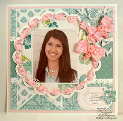 Ribbon Butterflies Layout