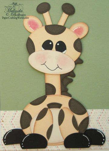 Spellbinders Giraffe Close Up