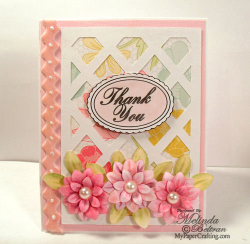 Thank You Flower Tutorial Card