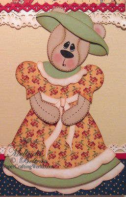 Vintage Bear Closeup