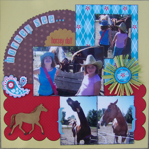 Horsey See...Horsey Do!!