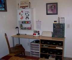 My scrap desk.