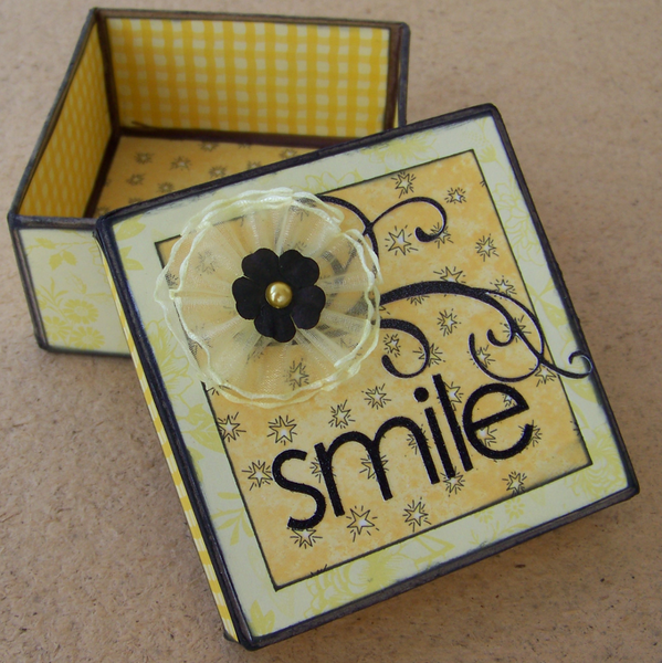 Smile - Positive Thought Box
