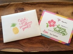 Aloha Birthday Card*