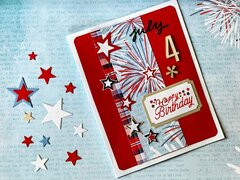 Firecracker Birthday Card